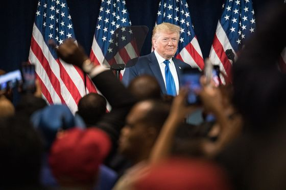 Trump's Plea to Black Voters Shows Find-a-Few Strategy