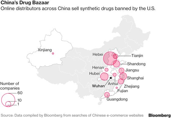Deadly Chinese Fentanyl Is Creating a New Era of Drug Kingpins