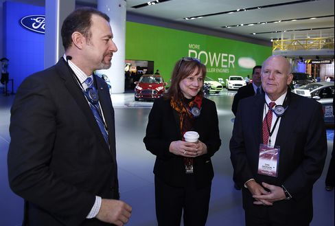 GM at the NAIAS