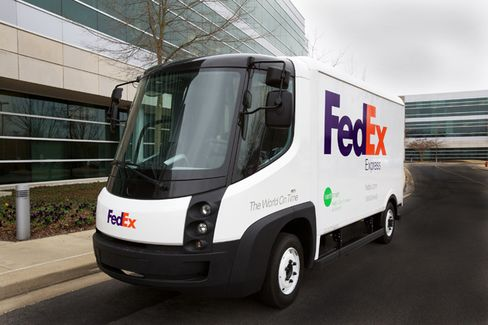 FedEx's Electric Vehicle Experiment