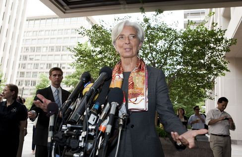 France's Minister of Finance Christine Lagarde