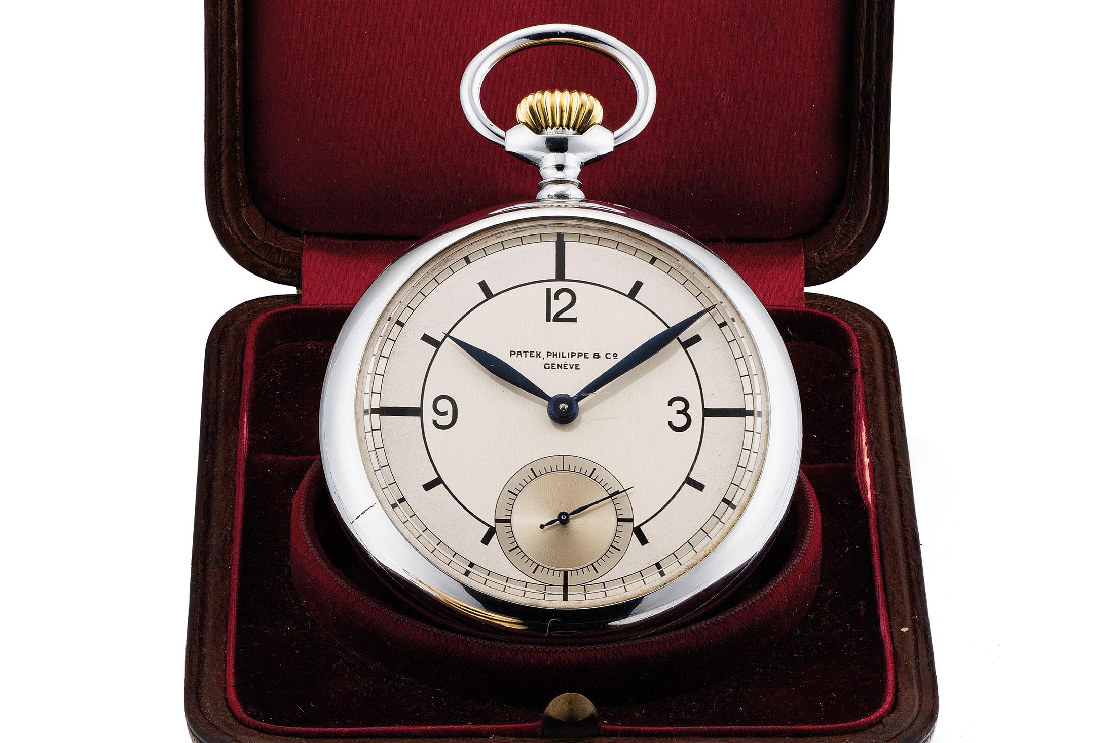 Patek Philippe Observatory Pocket Watch (Lot 315)