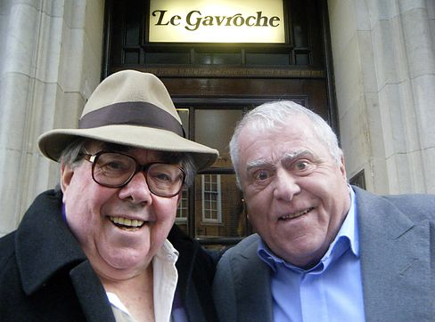 Ronnie Corbett and Albert Roux
