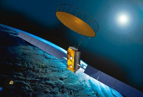 An Inmarsat Satellite