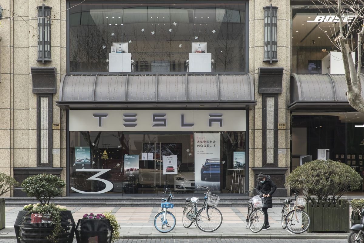 Tesla China Sales Falter With Exports Robust on Demand in Europe