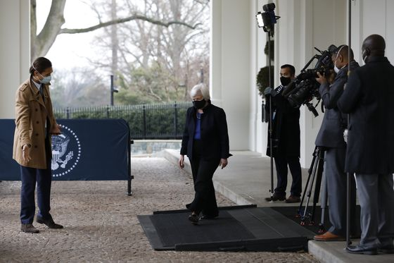Yellen Cites Treasury-Fed Coordination in New Crisis Campaign