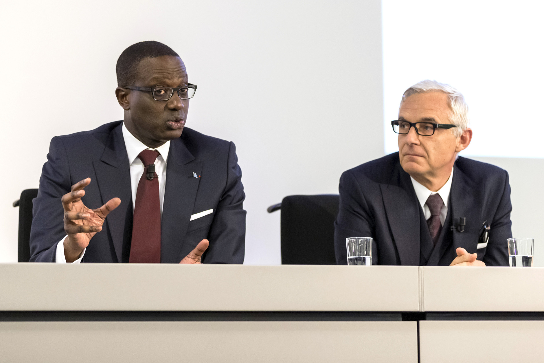 Credit Suisse Group AG Chief Executive Officer Tidjane Thiam Earnings News Conference & Interview