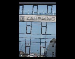 The Kaupthing Bank in Reykjavik, Iceland