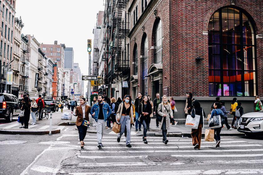 NYC Shopping As Supply Chain Delays Poised To Disrupt Peak Season Retail