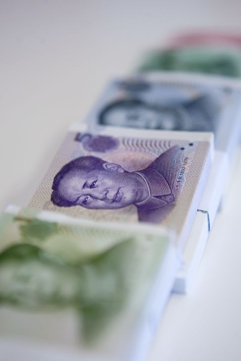 Yuan Advances Most in a Week on China, U.S. Stimulus Speculation