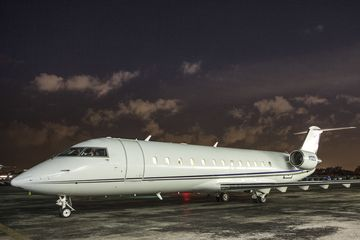 The 850 Challenger, a jet offered by JetSmarter.