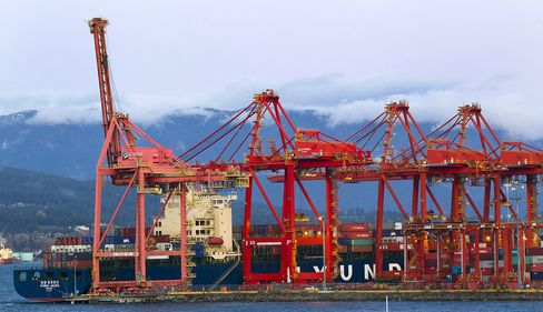 Oil Flowing West to Asia Pushes Vancouver Port Growth