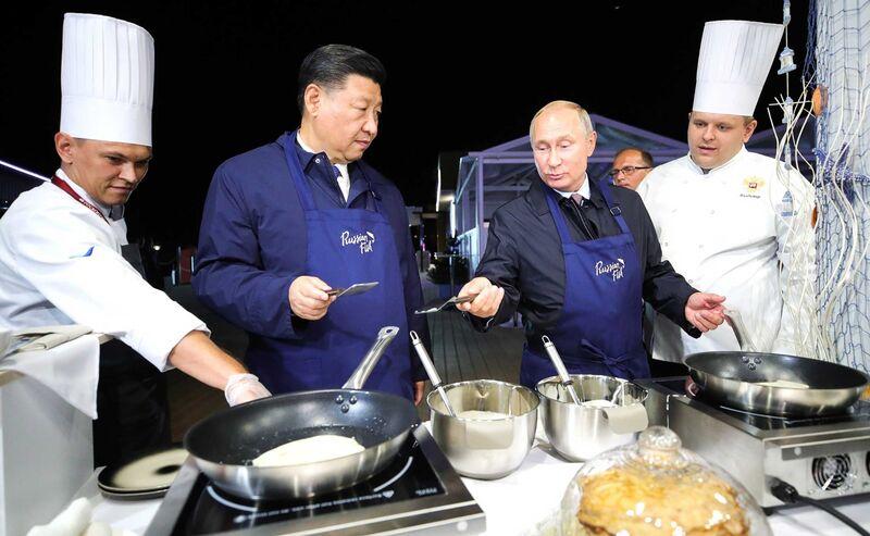 Nga -Trung gan nhau trong chien tranh thuong mai