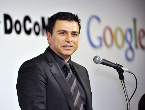 US Internet giant Google senior vice pre