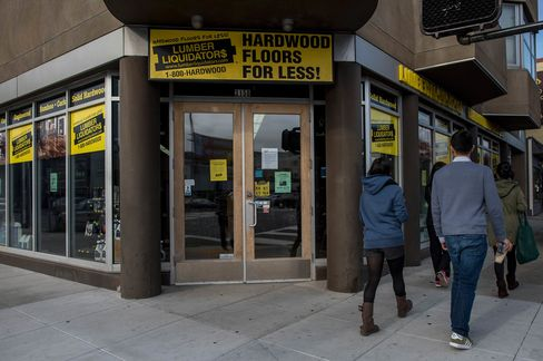 Sales at Lumber Liquidators grew for the first time in 6 quarters