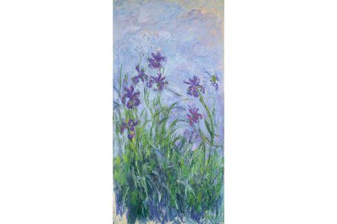 Claude Monet, Iris mauves, 1914-1917