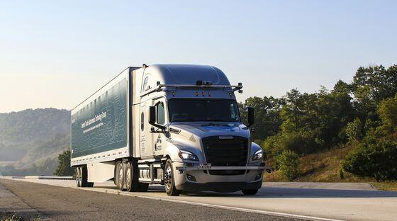 Daimler Invests in Lidar Startup to Bolster Self-Driving Truck Effort