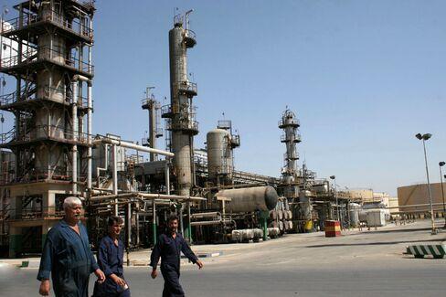 Iran Oil Refinery