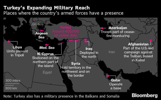 Mapping the Turkish Military's Expanding Footprint: QuickTake