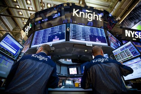 Knight Board Said Meeting Next Week to Study Getco, Virtu Offers