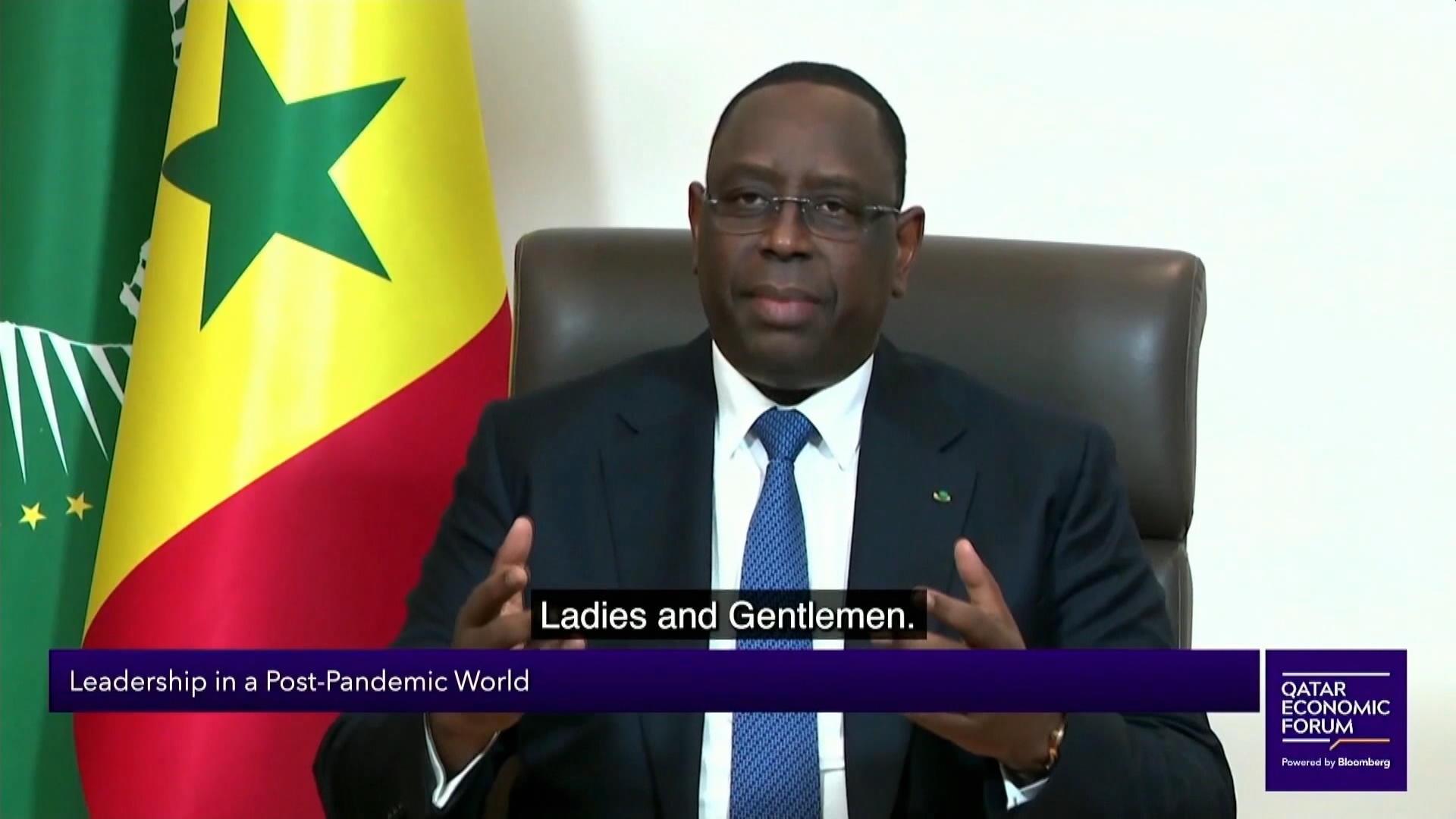 Senegal President Addresses Qatar Economic Forum