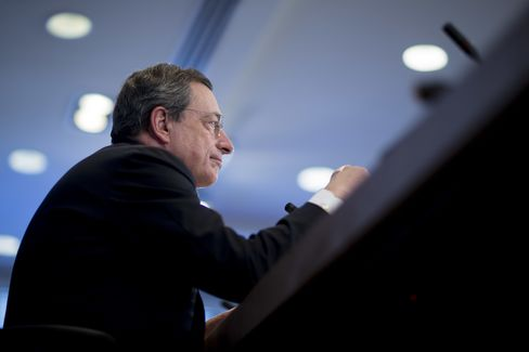 Draghi Warns Stronger Euro Would Compel ECB to Ramp Up Stimulus
