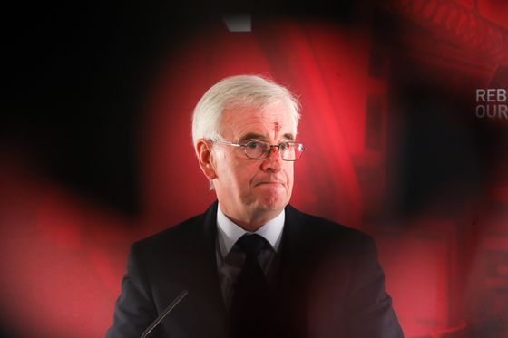 Labour's McDonnell Points to Tory Austerity as May Woos His Partyon Brexit