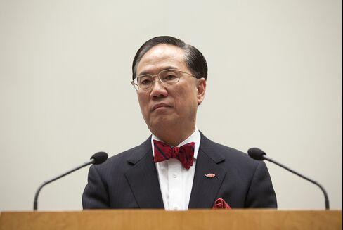 Hong Kong Chief Executive Donald Tsang