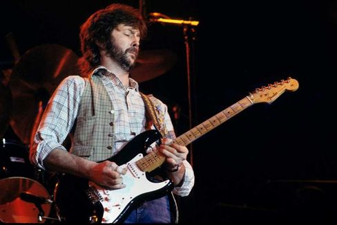 Eric Clapton's $1 Million 'Blackie' Guitar Moves to Times Square
