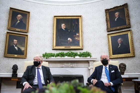 Biden, Morrison, Johnson Celebrate Sub Deal That Angered France
