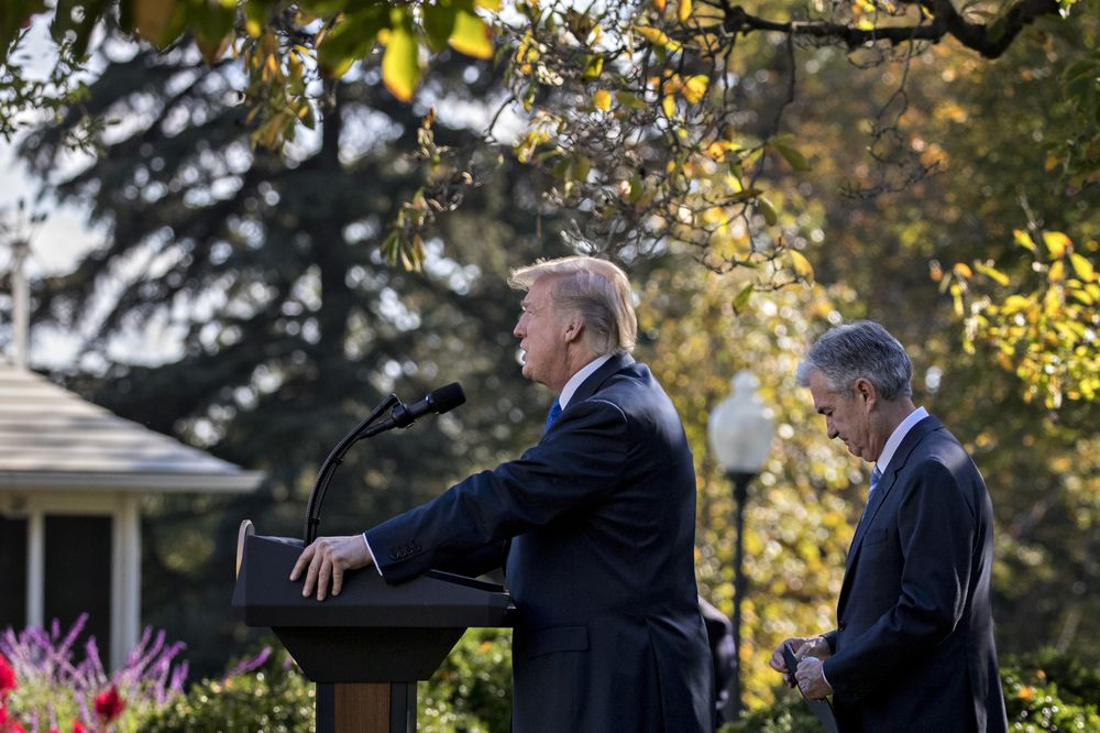 Donald Trump Doesnt Have Clue About My >> Key Trump Quotes On Powell As Fed Remains In The Firing Line Bloomberg