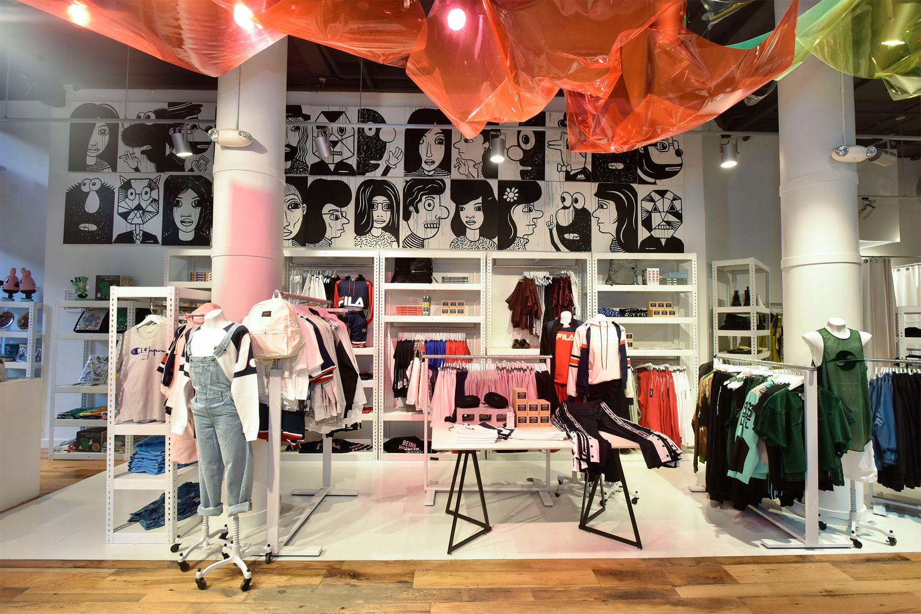 The Phluid Project store in New York.