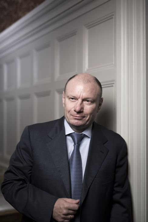 "Vladimir Potanin told Bloomberg he backs President Vladimir Putin - Russia's ""strong leader"""