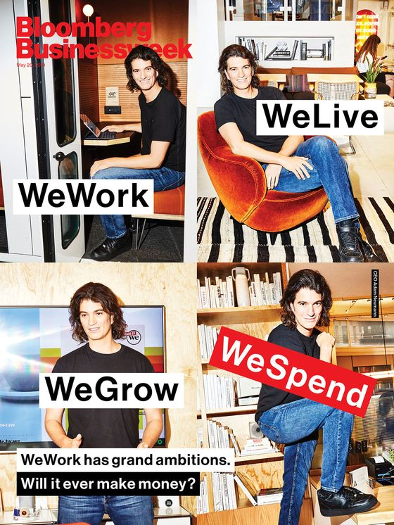 WeWork Wants to Become Its Own Landlord With Latest Spending Spree