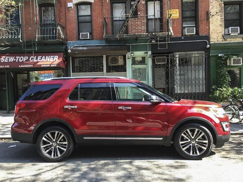 The 2017 Ford Explorer Platinum costs $53,235 at base price.