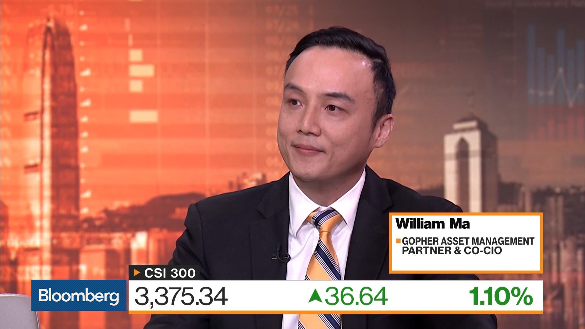 'Very Constructive' on China A-Shares, Gopher Asset CIO Says