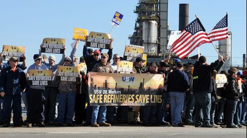 Steelworkers Union Rally