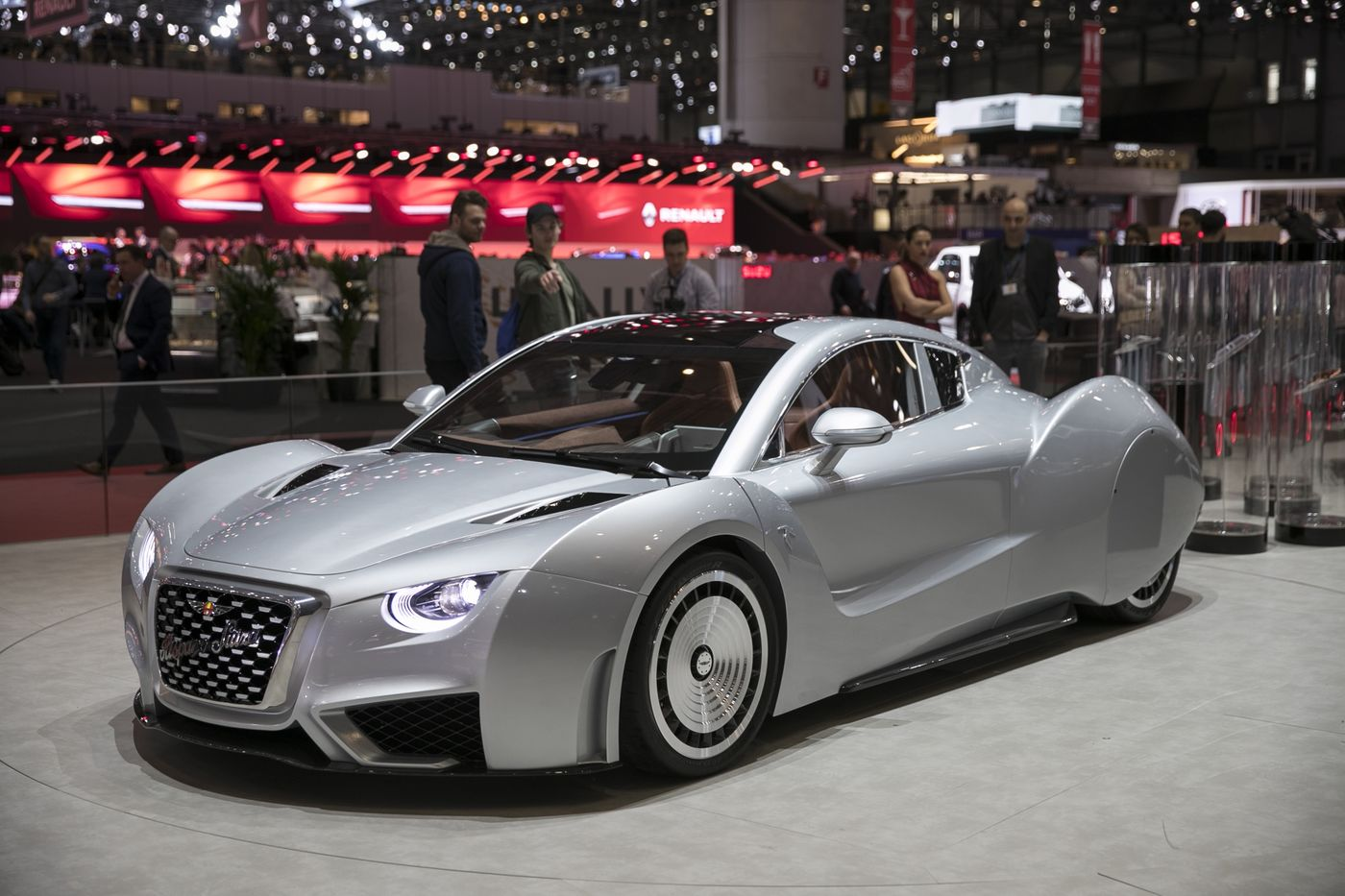 Day Two Of The 89th Geneva International Motor Show