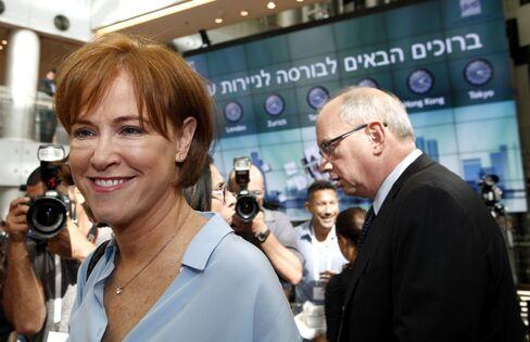 Bank Leumi Le Israel CEO Russak-Aminoach
