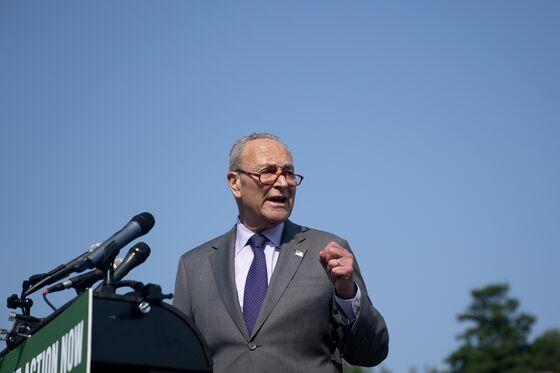 Schumer Seeks to Reassure Climate Activists on Spending Bills