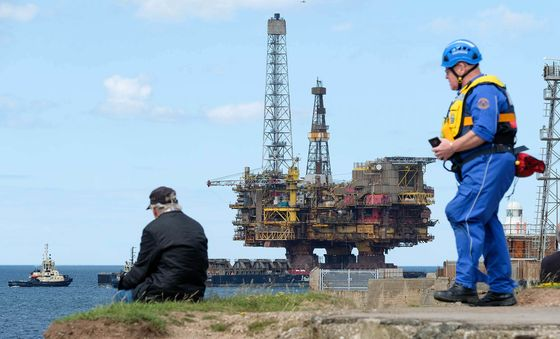 Future of Brent Oil Platform's Giant Legs Remains Uncertain