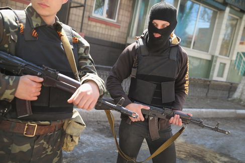 Tension In Ukraine