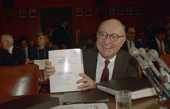 David Ruder, SEC Chairman During 1987 Crash, Dies at 90
