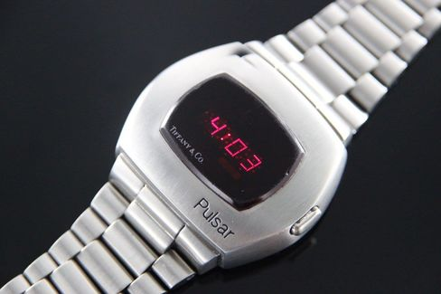This is a rare Pulsar from the early days of digital watches.