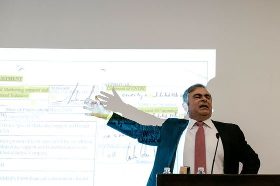 Ghosn Takes His Case to a Global Court of Public Opinion