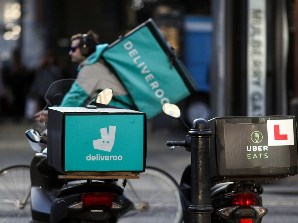 Deliveroo And Uber Eats List Restaurants With Low Health
