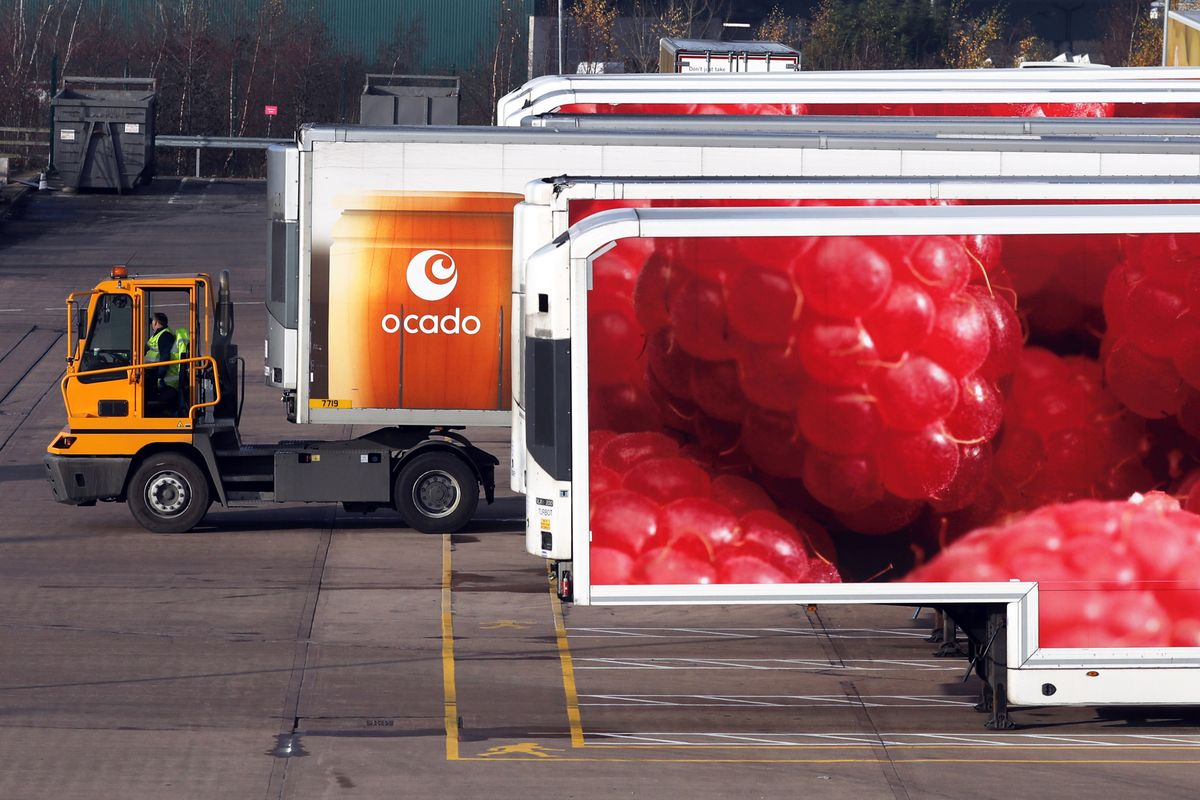 Ocado Hit by Driver Shortage in Brexit-Squeezed Labor Market