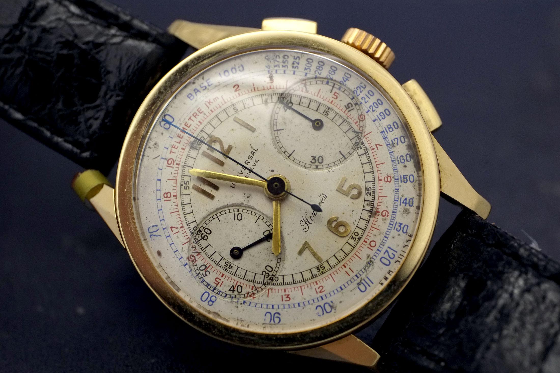 Universal Genève Hermès Chronograph (lot 26)