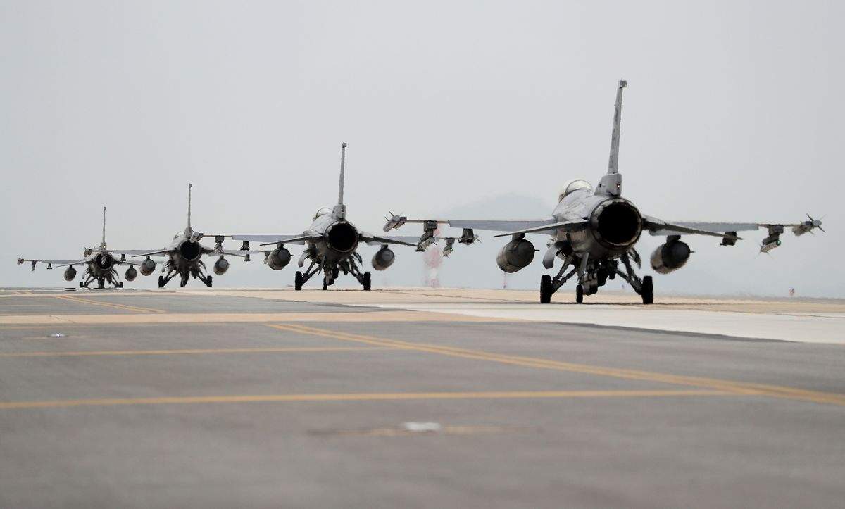 Taiwan Signals to U.S. That It Will Act Fast on F-16 Jets
