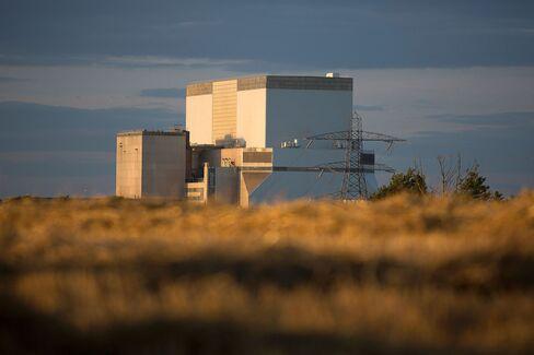 EDF's Hinkley Point B nuclear power station near Bridgwater, U.K.